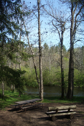 Brule River-campground-site 7