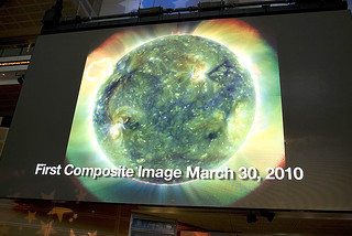 #SDO First Light Images Displayed at Press Conference #17
