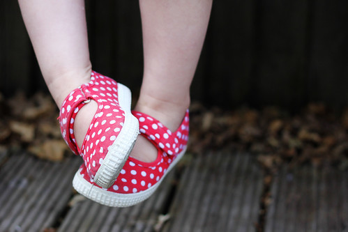 25th May - spotty shoes