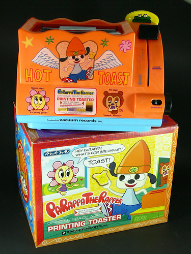 PaRappa the Rapper Printing Toaster