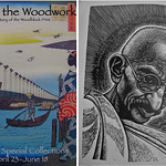 Woodblock print exhibit