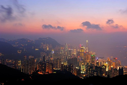 Sunset, Hong Kong 香港黃昏