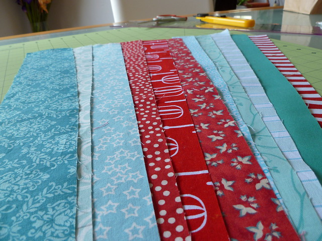 Red & Aqua 2 June Fabrics