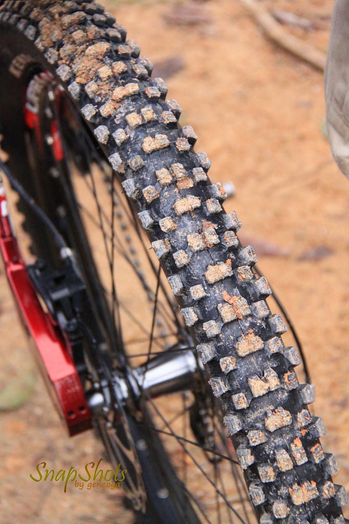 Dirt on wheel