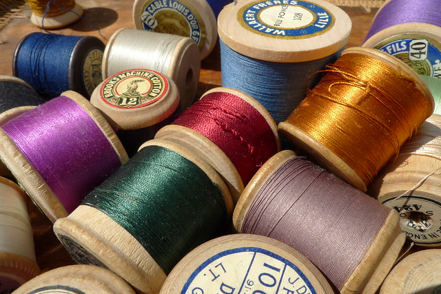 sewing thread from Flickr via Wylio