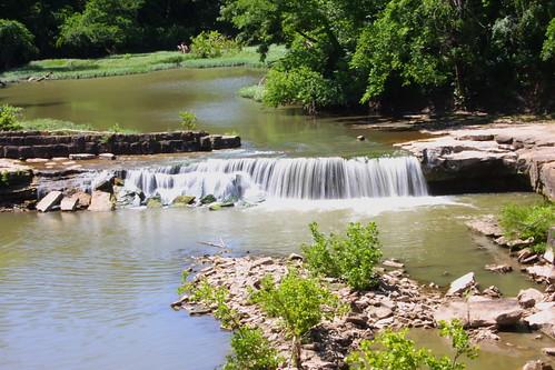 fall water waterfall ks falls kansas elk