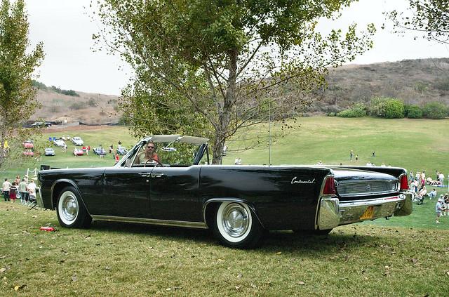 1961 lincoln continental convertible black rvl flickr photo sharing. Black Bedroom Furniture Sets. Home Design Ideas