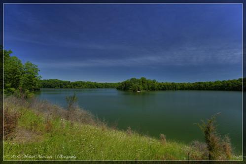 lake pond prairie hdr caesarcreek