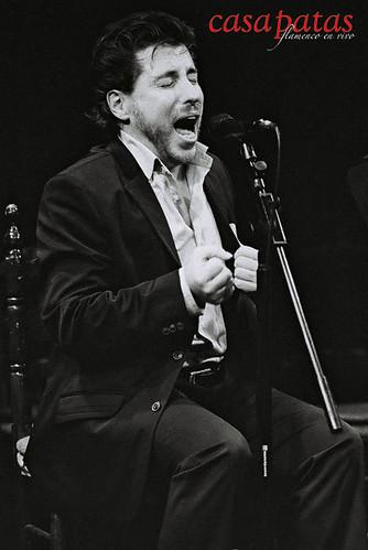 El cantaor Pedro Sanz. Foto: Martín Guerrero