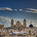 View of the Cathedral of Cadiz – Vista de la Catedral de Cádiz (Spain), HDR