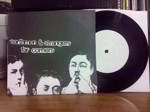 "Earthmen & Srangers / Far Corners - Split 7"" - Screened Cover /54"