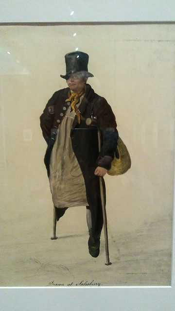 The old soldier from Salisbury