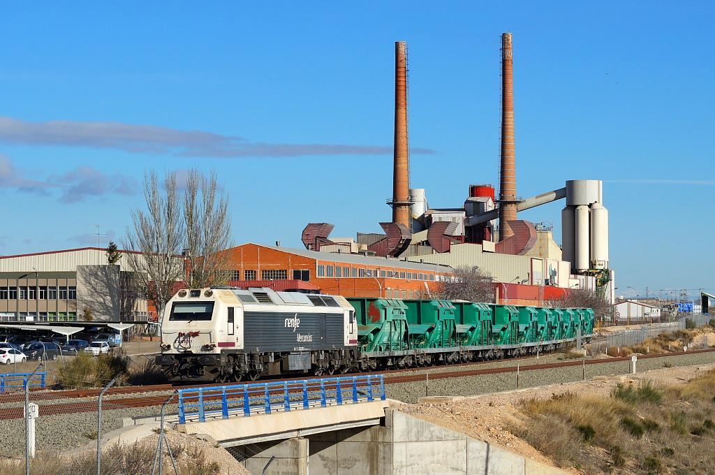 Tren de arena Teruel - Cuarte de Huerva.   Imagen para el re…   Flickr