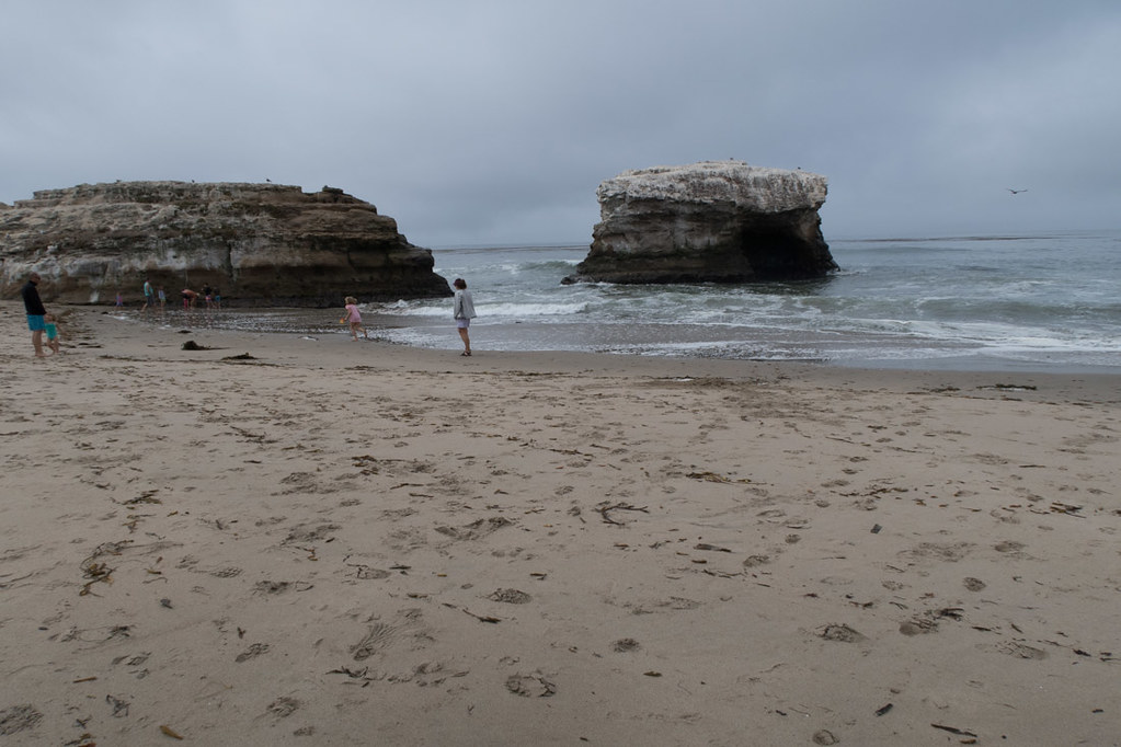 Natural Bridges State Beach.