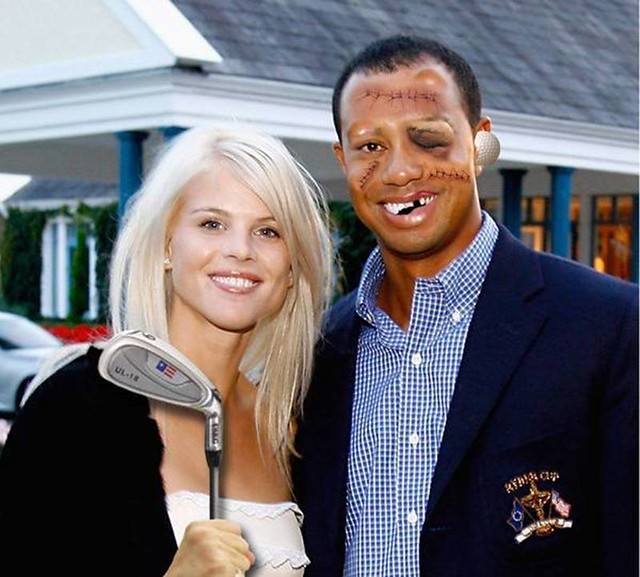 new tiger woods family portrait flickr photo sharing