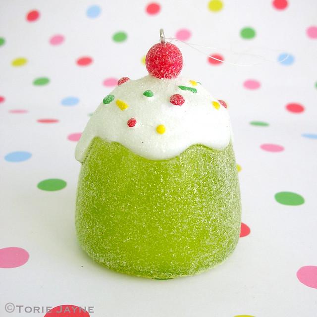 Green gumdrop decoration