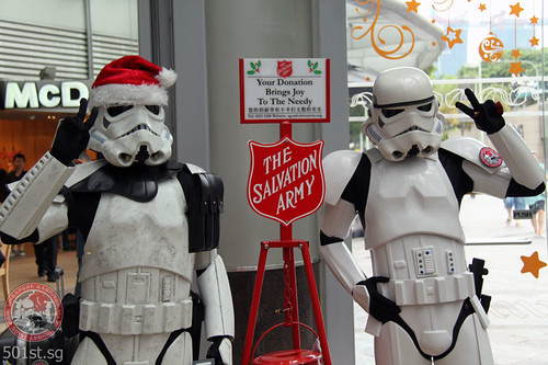 Salvation Army Christmas Kettling Week 1