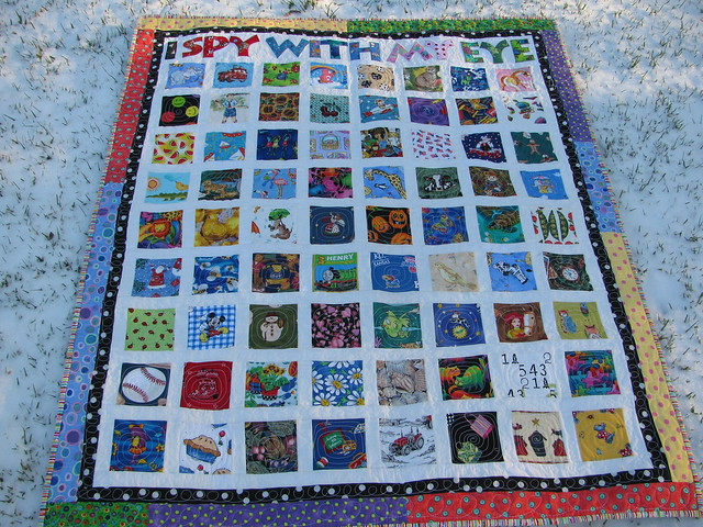 I Spy Quilt Ideas (for the 3x6 Bee) - a gallery on Flickr : i spy quilt pattern - Adamdwight.com