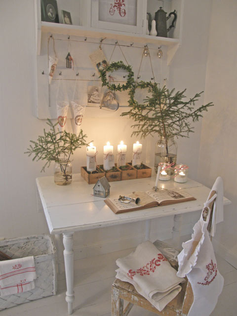 My romantic home flickr photo sharing for Shabby chic weihnachtsdeko