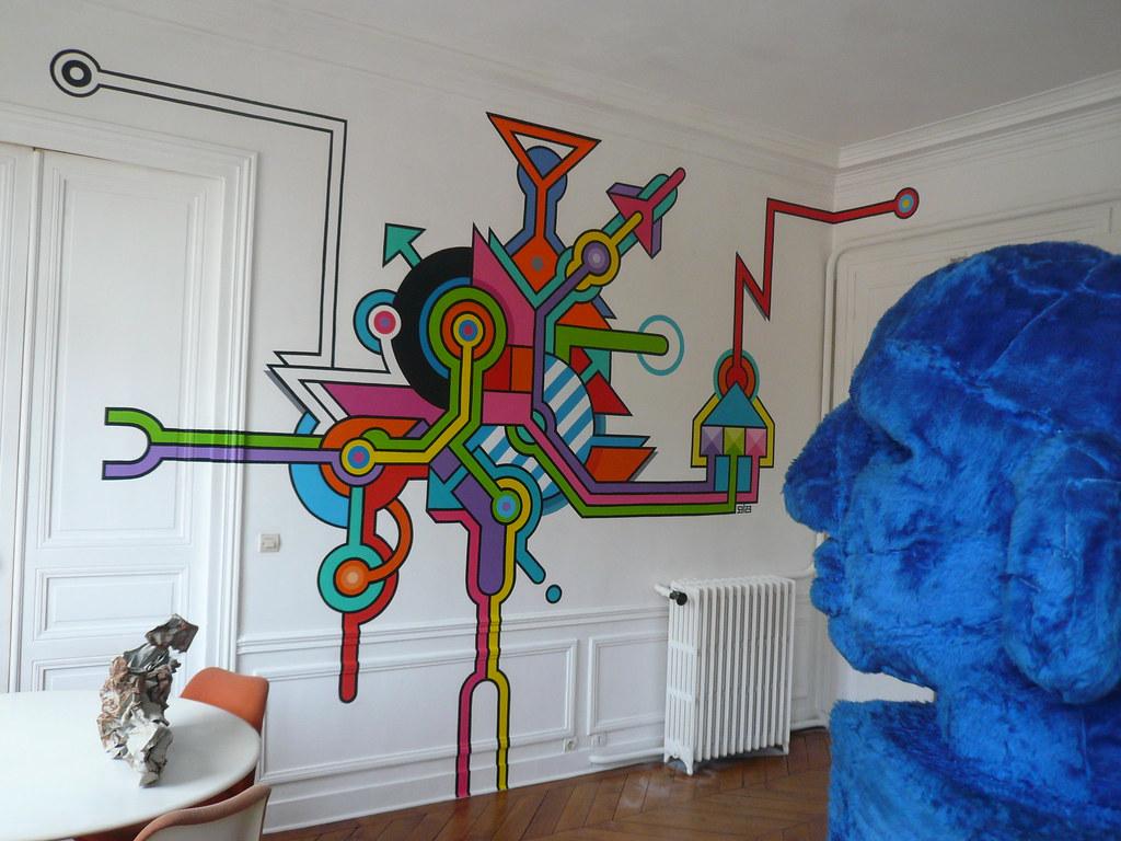 projet fresque hotel particulier