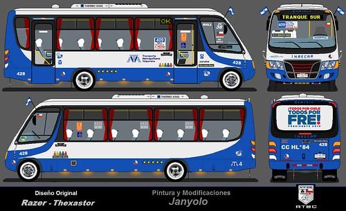 Inrecar Geminis / Viña Bus 4