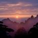 Yellow Mountain - Sunrise by Jim U