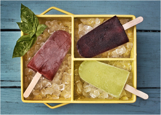 For a food piece on popsicles made with adult flavor combinations -- and ...
