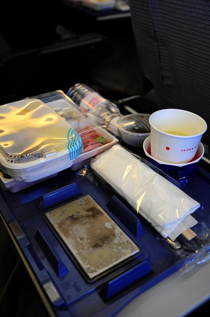 2009.05.28 日航 JAL 飛機餐