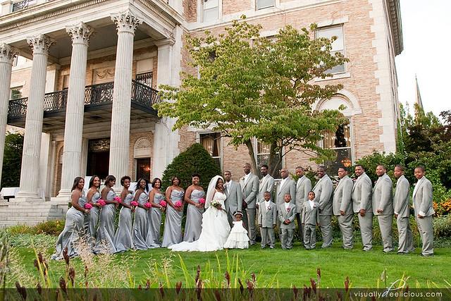 Butler Mansion Buffalo NY Wedding Party