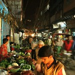 Back alleys of the Chandi Chowk bazaar