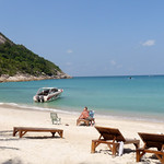 Koh Phangan Bottle Beach - Holiday 2nd day コパンガン ボトルビーチ19