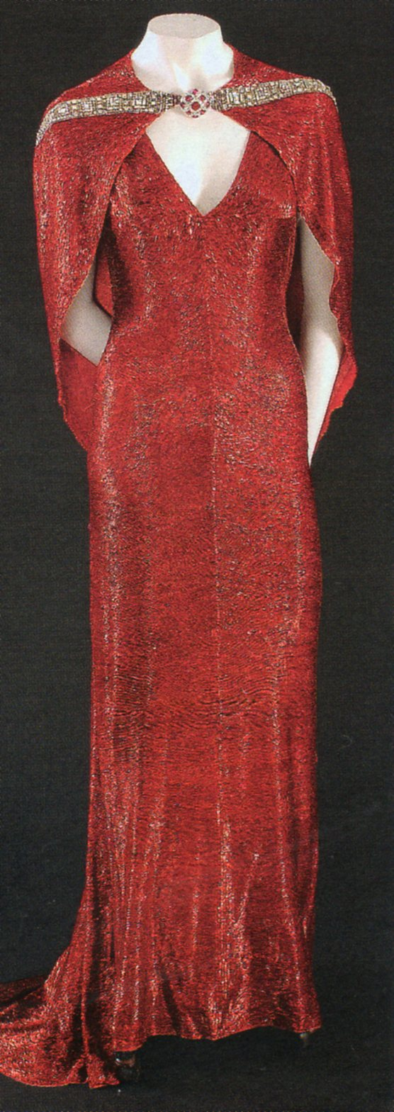 "Adrian  dress for Joan Crawford, ""The Bride wore Red"", 1937"