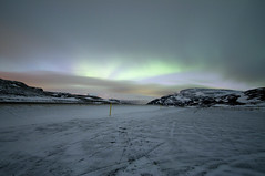 Northern Lights above Akureyri