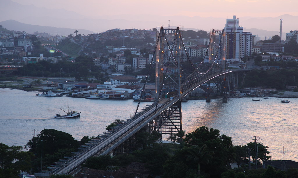 Ponte Hercílio Luz - Florianópolis, Santa Catarina