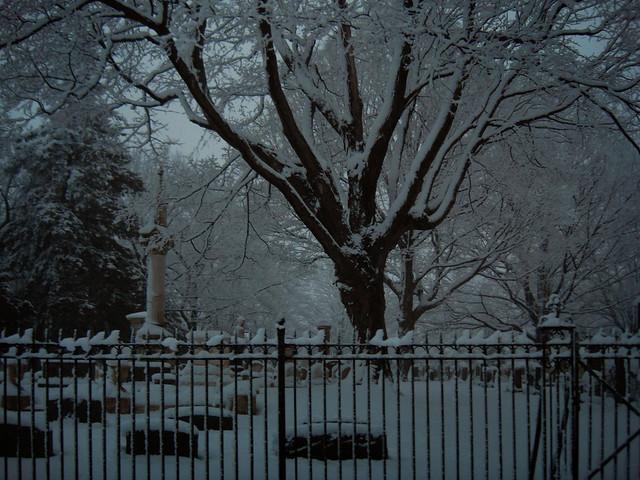 Wakefield Cemetery; February 16, 2010