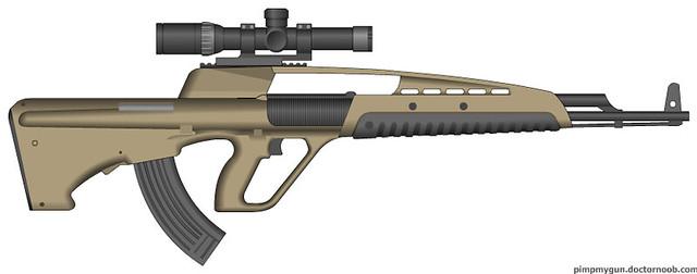 XM8 Bullpup Concept | ...