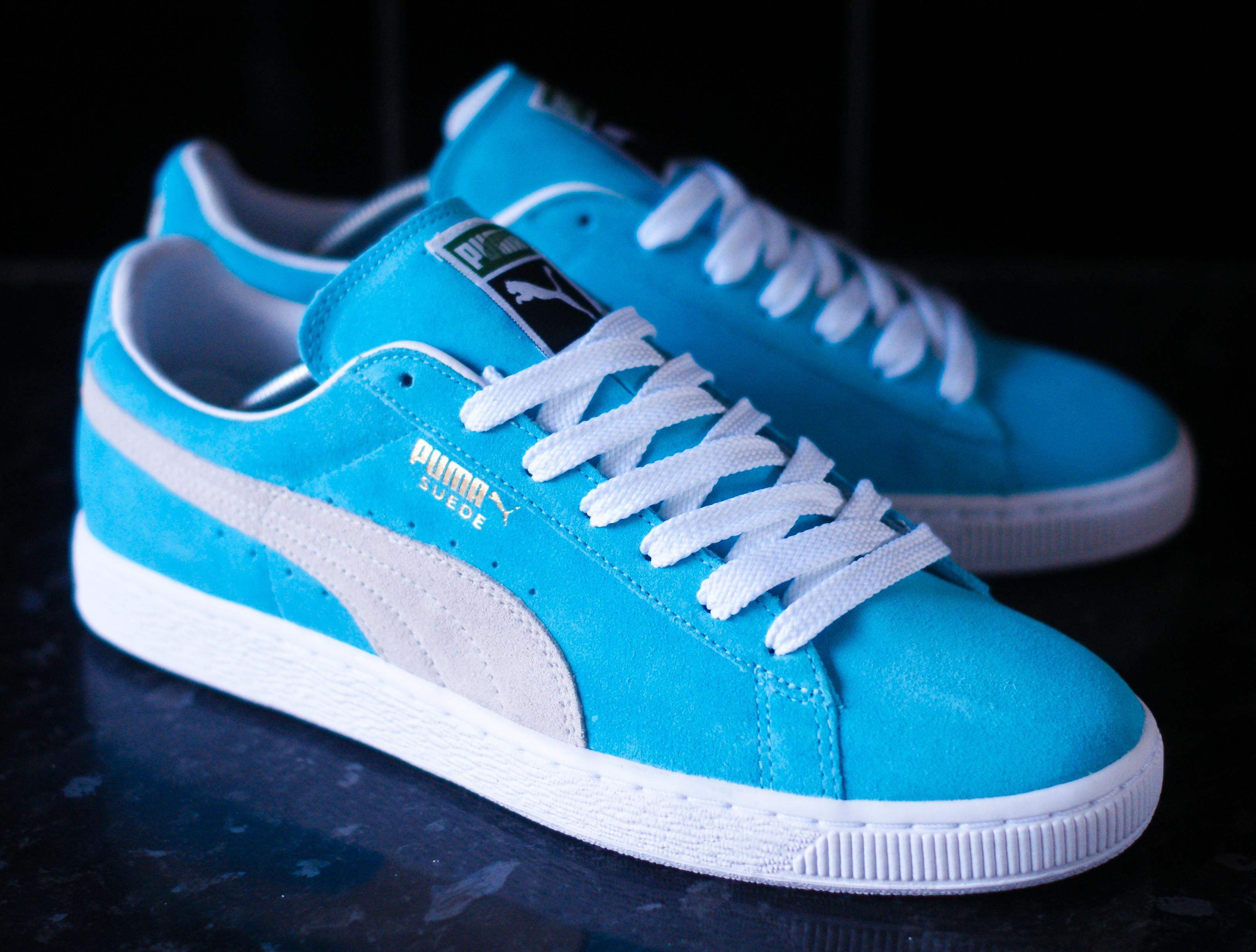 Puma Suede Blue