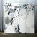 Otuskisama no kubikazari (2010) Oil on canvas, ink, pigment, charcoal 1300x1300x60mm