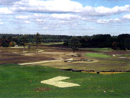 Course Construction - The Landscape