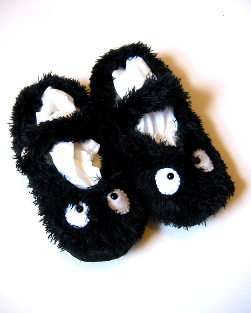 soot sprite slipper socks