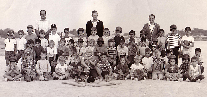baseball team - Dhahran, SA 1969