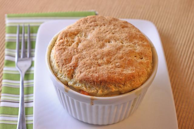 Individual Chicken Pot Pie