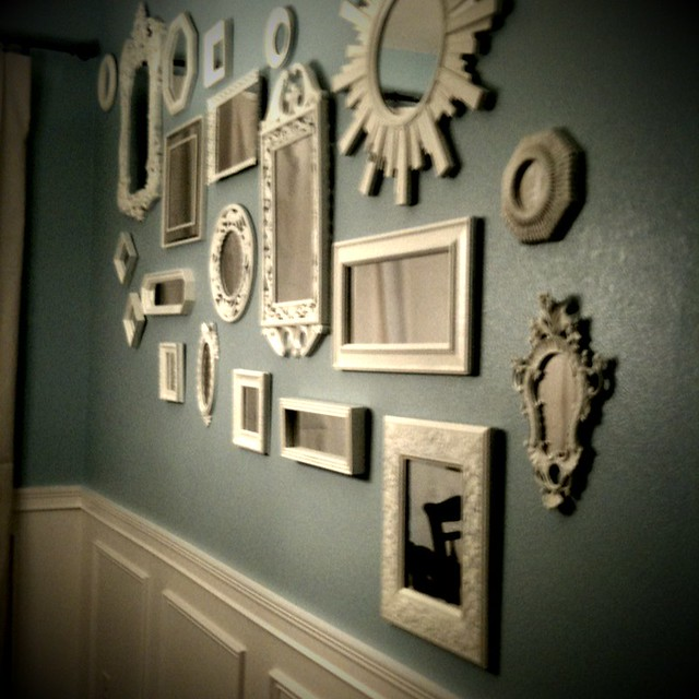 Decorative mirrors in dining room flickr photo sharing for Decorative items for dining room