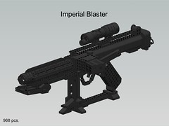 Imperial Blaster | by Bolt of Blue