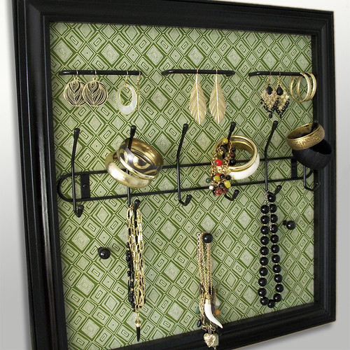 Green w/ Envy Jewelry Frame