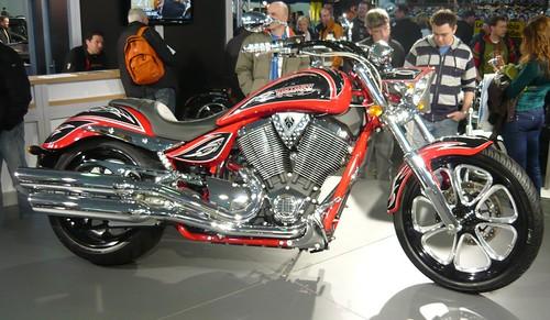 Victory motorcycle r bicolor
