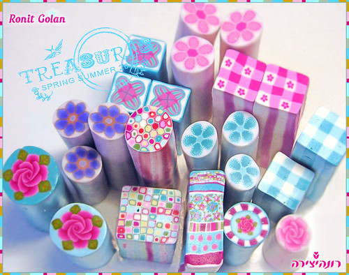 ~Shabby Cotton Chic~ Canes Collection