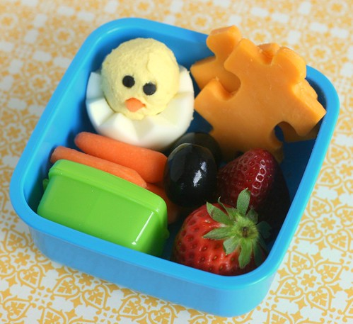 Something to chirp about - World Autism Awareness Day bento snack lunch