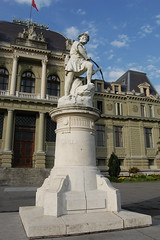 William Tell statue by the Palace of Justice, Lausanne