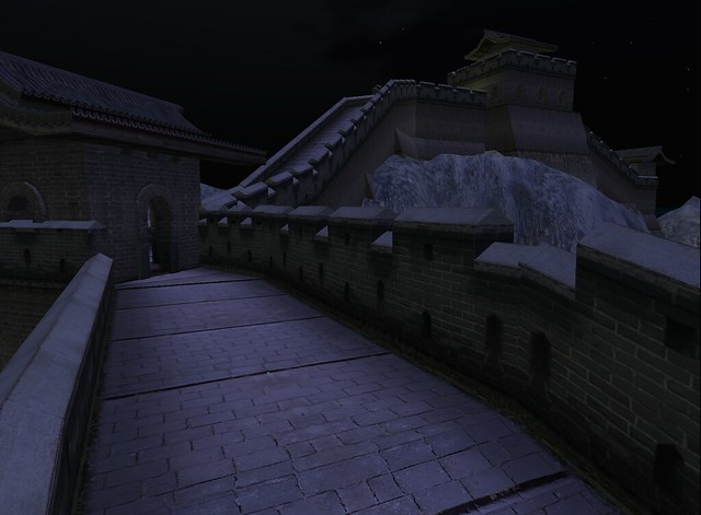 great wall at night flickr photo sharing. Black Bedroom Furniture Sets. Home Design Ideas